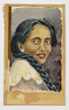 Sans titre [Portrait de femme malgache]