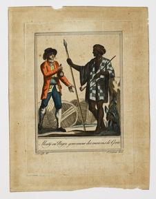 Alcatÿ ou nègre gouverneur des environs de Gorée