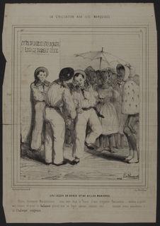 La civilisation aux Iles Marquises - Une leçon de danse et de belles manières