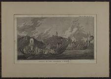 Flotte de Taiti assemblée à Oparée