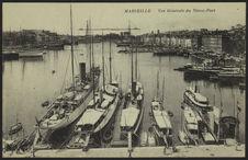 Marseille, vue générale du Vieux-Port