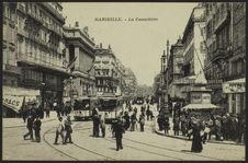 Marseille, la Cannebière