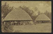 Eingeborenen-Haüser, Samoa