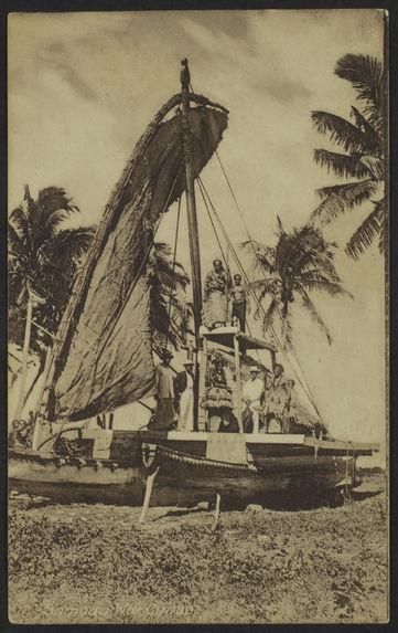Samoa War Canoe