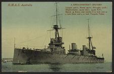 H.M.A.S Australia. A Dreadnought Cruiser