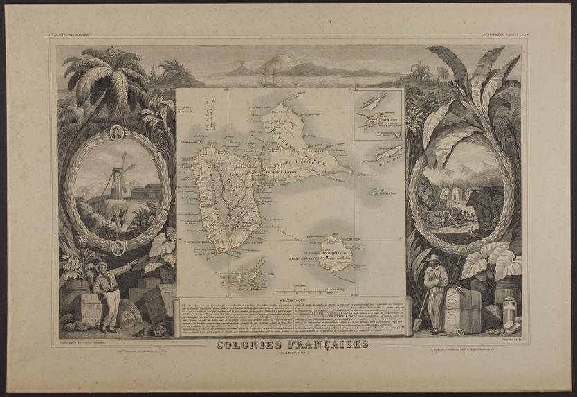 Colonies françaises - La Guadeloupe