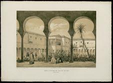 Cour d'entrée du Palais du Bey à Constantine
