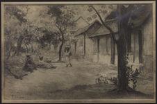 Sans titre [Reproduction d'un tableau de Gauguin]