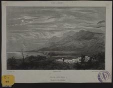 Volcan (Pays brûlé) Vue prise de la lisière du Bois blanc