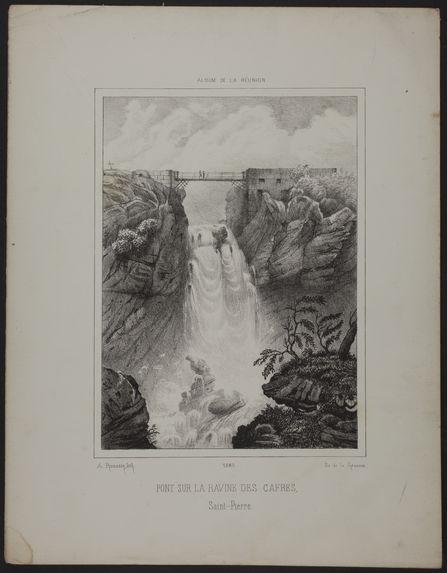 Pont sur la ravine des Cafres - Saint Pierre