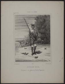 Officier hova, préposé à la garde du Fort de Tamatave