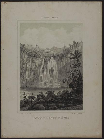 Cascade de la rivière Ste-Suzanne