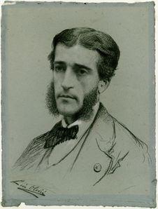 Sans titre [Portrait de Francis Garnier]