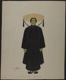 Femme Annamite - Indochine