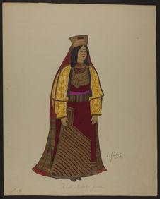 Femme juive du Maroc - Rabat