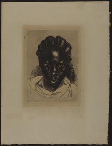 Portrait de femme malgache