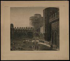 Le Kaire - Intérieur de la porte appelée Bâb el-Gebel
