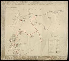 Plan de stationnement des troupes du Levant