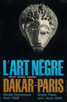 L'art nègre - Dakar-Paris