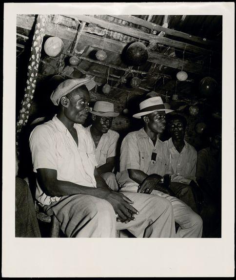 Haïti, Port au Prince, Vodou, 1948