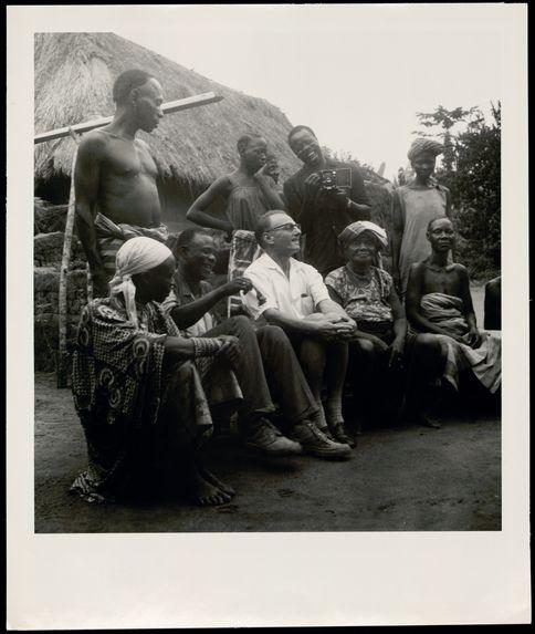 Dahomey, Ifanhin [Pierre Verger sur le terrain]