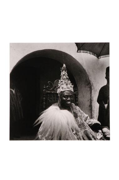 Portrait de l'Ataoja de la ville d'Oshogbo