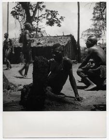Chef des danseurs Bangombé
