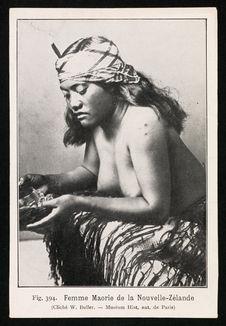Femme Maorie de la Nouvelle-Zélande
