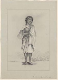 Tahiea, jeune fille de Nuku-Hiva