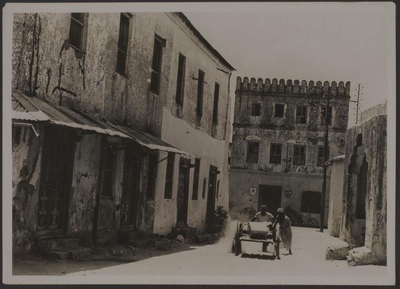 Le Vieux quartier, Majunga, Madagascar