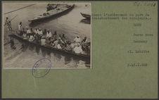Avant l'achèvement du port de transbordement des voyageurs