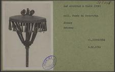 Asé attribué à Glélé (Fon). Coll. du Musée du Centrifan, Abomey
