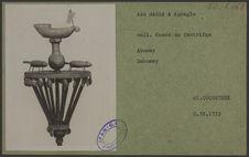 Asé dédié à Agonglo. Coll. du Musée du Centrifan, Abomey
