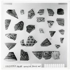 Fouilles à La Vaqueria : céramique