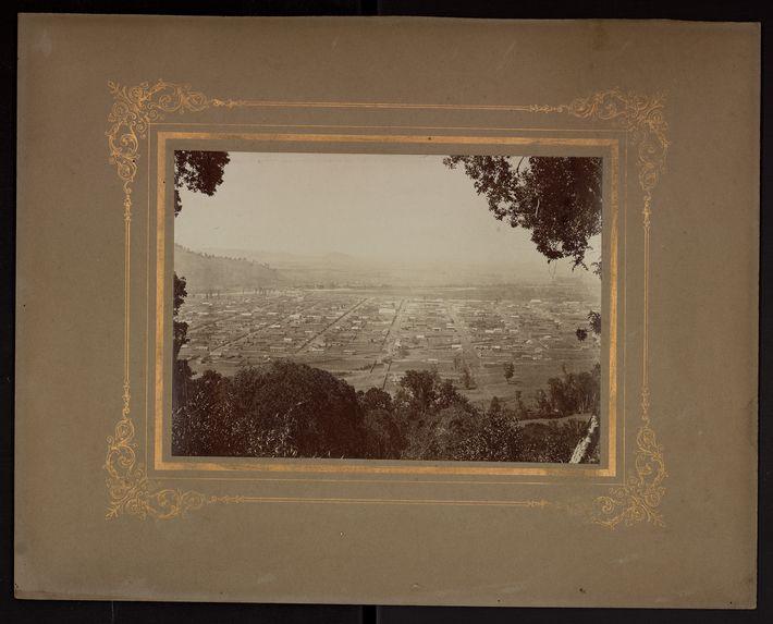 Vue générale de Temuco