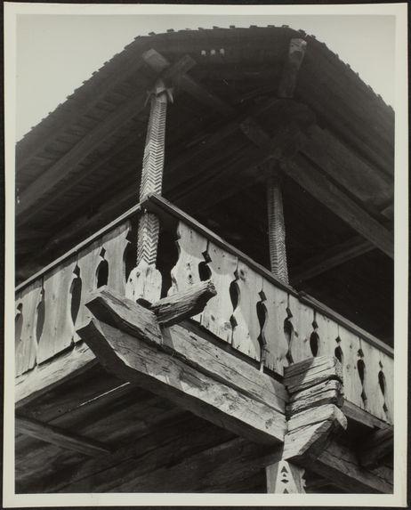 Détail d'un balcon