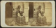Jeune négrita de Panoy et enfant bicolore albinos.
