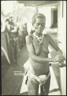 Woman of Vella Lavella- Solomons