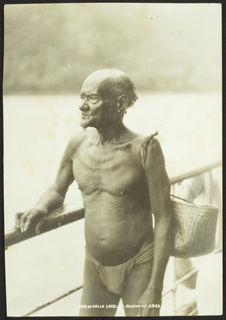 Man of Vella Lavella - Solomons