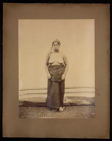 Sans titre [Portrait de femme]