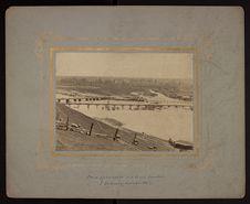 Pont provisoire sur le rio Cautin à Temuco