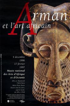 Arman et l'art africain