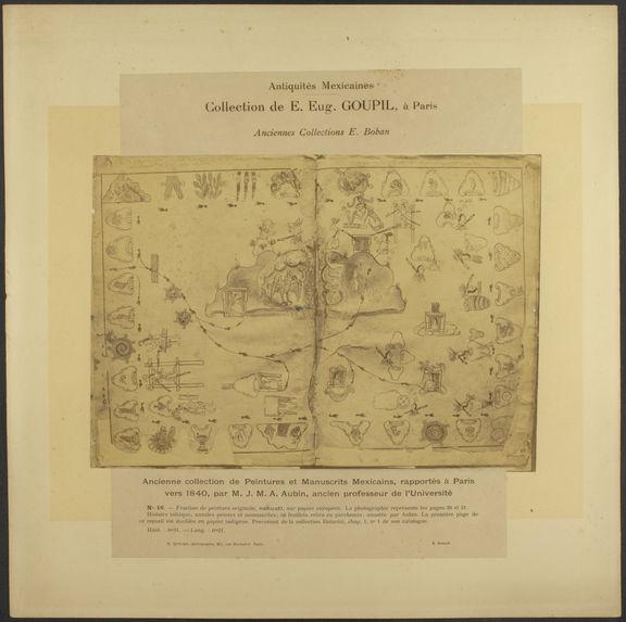 Ancienne collection de peintures et manuscrits mexicains