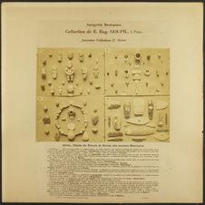 Idoles, objets de parure et Armes des anciens Mexicains