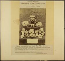 Idoles en terre cuite, de la côte de Vera-Cruz