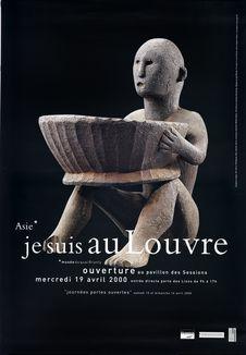 Asie* Je suis au Louvre [Sculpture Ifugao]