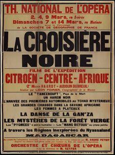 La Croisière Noire, film de l'expédition Citroën Centre-Afrique