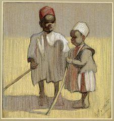 Jeunes marocains à la moisson