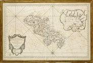 Carte réduite de l'île de Martinique