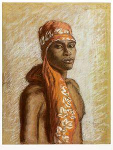 Wadewi, garçon de Maré (îles Loyauté)